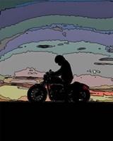 Motorcycle Rider Fine-Art Print