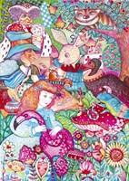 Alice In Wonderland Fine-Art Print