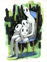 Ghost Kids Fine-Art Print