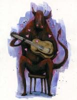 The Devil Plays The Blues Fine-Art Print