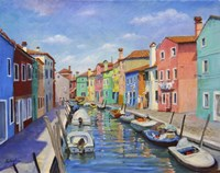 Colorful Burano Fine-Art Print