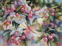Crab Apple Blossoms I Fine-Art Print