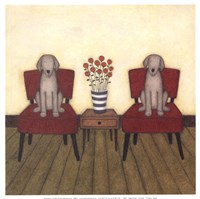 Two Dogs Fine-Art Print