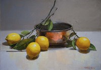 Still Life with Lemons Fine-Art Print