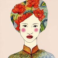 Lotus Girl Fine-Art Print