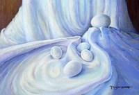 Eggs in White Satin Fine-Art Print