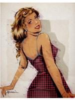 Polka Dot Dress Fine-Art Print