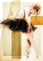 Tired Dancer Fine-Art Print