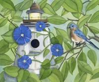 Bird Lighthouse Fine-Art Print