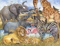 African Animals Fine-Art Print