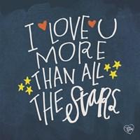 I Love You More Than the Stars Fine-Art Print