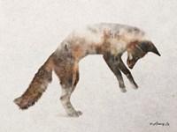 Jumping Fox Fine-Art Print
