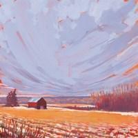 Slate Winter Sky Fine-Art Print