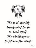 Silence the Mind Fine-Art Print