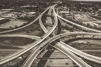 Highway Crossing Fine-Art Print