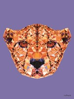 Geometric Cheetah Fine-Art Print