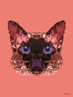 Geometric Cat Fine-Art Print