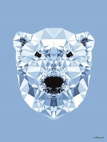 Geometric Polar Bear Fine-Art Print