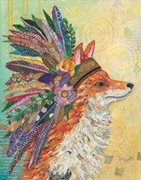 Tribal Fox Fine-Art Print