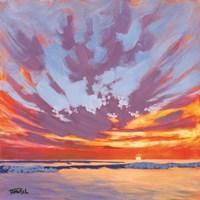 Beach Break Sunset Fine-Art Print