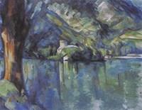 Annecy Lake, 1896 Fine-Art Print