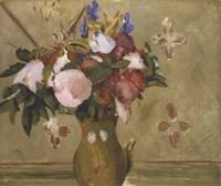 Flowers in a Vase, 1886 Fine-Art Print
