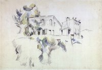 View of the Chateau Noir Fine-Art Print