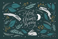 Sweet Dreams Bunny I Fine-Art Print