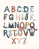 Alphabet A to Z Fine-Art Print