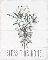 Blessed II Black Bow Fine-Art Print