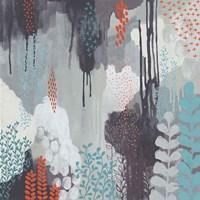 Gray Forest I Framed Print