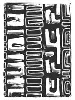African Textile Woodcut I Fine-Art Print