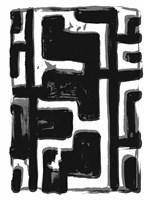 African Textile Woodcut III Fine-Art Print