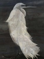 Textured Egret II Fine-Art Print