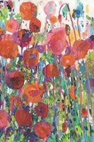 Vivid Poppy Collage II Fine-Art Print