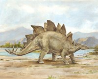 Dinosaur Illustration I Fine-Art Print