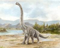 Dinosaur Illustration IV Fine-Art Print