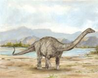 Dinosaur Illustration V Fine-Art Print