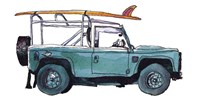 Surf Car I Fine-Art Print