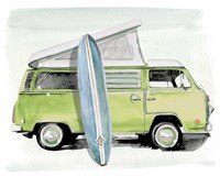 Surf Wagon I Fine-Art Print