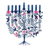 Boho Hanukkah I Fine-Art Print