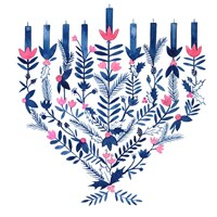 Boho Hanukkah II Fine-Art Print