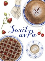 Sweet As Pie I Fine-Art Print