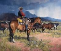 Twenty Years in the Saddle Fine-Art Print