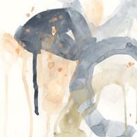 Liquid Blueprint I Fine-Art Print