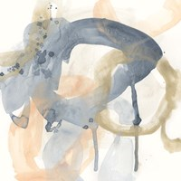Liquid Blueprint V Fine-Art Print
