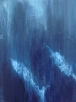 Azul Profundo Triptych I Fine-Art Print
