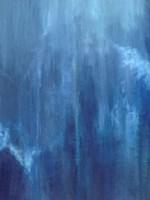 Azul Profundo Triptych II Fine-Art Print