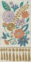 Tassel Tapestry I Fine-Art Print