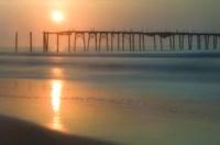 Morning Pier Sunrise, Cape May New Jersey Fine-Art Print